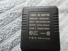 DPX542236 Power Supply AC Adapter  Charger Cord 15V DC 1000mA