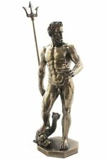 11.75 Inch Statue of Poseidon God of the Sea Greek Mythology Figurine Figure