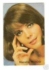 Natalie Wood .  Vintage 1960s French Card