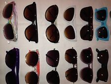 WHOLESALE JOB LOT ~ 12 PAIRS OF VINTAGE SUNGLASSES (MIXED UNISEX)each Lot Varies