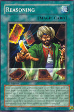 1x Reasoning - PGD-081 - Common - 1st Edition YuGiOh NM PGD - Pharaonic Guardian