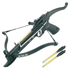 80LBS Mini Crossbow Arrow Bolt Set Easy Cock System Compact Survival 100 / 75