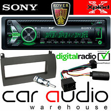 ROVER 75 Sony DAB Bluetooth CD MP3 USB Car Stereo & Steering Wheel Interface Kit
