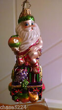 """Christopher Radko """"SWEETLY SEATED SANTA"""" Diabetes Charity Edition - Gifts galore"""