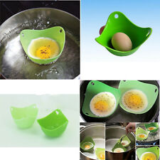 Egg Poacher Cook Poach Pods Silicone Kitchen Cookware Tool Easy For You  Family