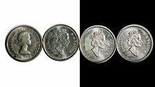 1964 Canada 1 2002 3 5 Cents 4 Coins Lot