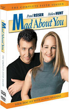 Mad About You . Season 5 . Verrückt Nach Dir . Helen Hunt . Paul Reiser .. 4 DVD