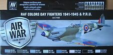 Vallejo Model Air VAL71162 WW2 RAF Day Fighters/PRU Aircraft  8 colour paint set