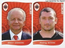 411 DAVIDOVIC - RISTOVIC  BELGIQUE ROYAL ANTWERP STICKER FOOTBALL 2009 PANINI