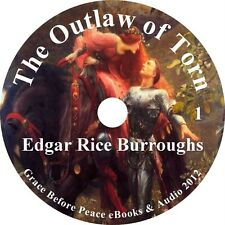 The Outlaw of Torn, Edgar Rice Burroughs Unabridged Fiction English on 1 MP3 CD