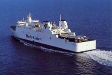Ship postcard- MAREN MOLS Mols - Linien