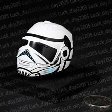 "ZY TOYS Motorcycle Biker Helmet White 1/6 Fit for 12"" action figure"