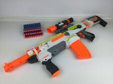 Nerf Modulus ECS-10 with 5x Attachments and 30x New Ammo/Darts (1)