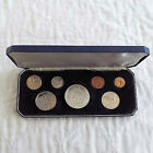 NEW ZEALAND 1967 7 COIN PROOF BOXED PROOF SET - mintage 500