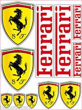 11 Aufkleber - Aufkleber Ferrari