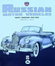 LIVRE : VOITURE RUSSE 1930-2003 (russian cars,soviet limousines,automobile