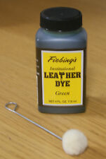 FIEBINGS INSTITUTIONAL LEATHER DYE (WATER BASED) 4 FL OZ - GREEN