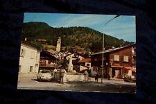 TAI DI CADORE Viaggiata Cartolina Animata Fiat 500