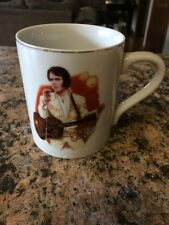 Elvis Presley Lonesome Tonight Nostalgia Collectibles 1985 Coffee/Tea Mug/Cup