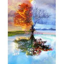 Full Drill Wishing Tree 5D DIY Diamond Embroidery Cross Stitch Painting Decor