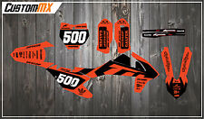 KTM SXF SX XC EXC Graphics Kit - Fluorescent Orange 85 125 150 250 300