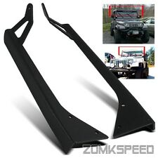 "For 87-95 Jeep Wrangler YJ 50"" LED Light Bar Windshield Top Mounting Bracket"