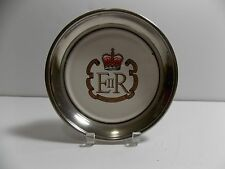 THE QUEEN'S SILVER JUBILEE 1977 - COMMEMORATIVE M & R SILVER PLATE     D