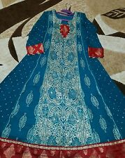 Pakistani indian shalwar kameez anarkali