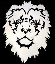 high detail airbrush stencil lion face FREE UK  POSTAGE