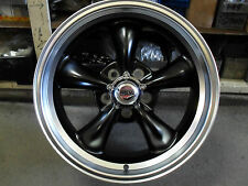 4X 17X8 CLASSIC BLACK ALLOYS WITH TYRE'S TO SUIT OLD SCHOOL FORD & MUSTANG