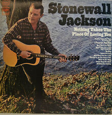 "STONEWALL JACKSON - NOTHING TAKES THE PLACE OF LOVING YOU CS 9669 12"" LP (X 244)"