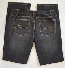 Ann Taylor Loft Slim Boot Womens Black Jeans Size 6 (H23#1246)