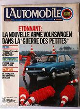 b)L'AUTOMOBILE 337 du 6/1974: Emerson Fittipaldi/ Alfetta GT/ Alfasud/ Le Mans