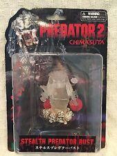 "Predator 2  Stealth Predator Bust 4 "" CHIMASUTA   NEW"