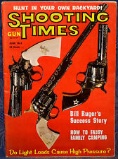 Vintage Magazine SHOOTING TIMES, June 1963 !!!RICHLAND ARMS Model: 707 MAGNUM!!!
