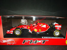 Hot Wheels Ferrari F1 F14 T 2014 Kimi Raikkonen 1/18