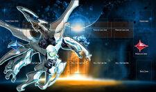 E353# Free Mat Bag Shooting Quasar Dragon Play Mat YUGIOH Playmat Pendulum Zones