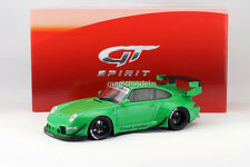GT Spirit Porsche 911 993 RWB Green Color in 1/18 Scale. New Release!! In Stock!