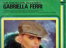 GABRIELLA FERRI disco LP 33 giri 1982 COSE DI IERI DELL'ALTRO E DI SEMPRE Italy
