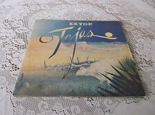 ZZ TOP. TEJAS. TRIFOLD COVER. PICTURE SLEEVE. LONDON. 1976. FIRST PRESSING.