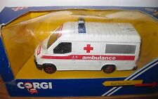 Corgi Ford Transit Van C656/3 Ambulance 1986 Made In Great Britain