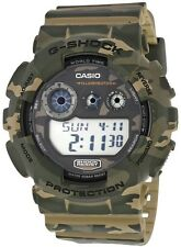 Casio G-Shock Watch Classic Brown Camouflage Resin