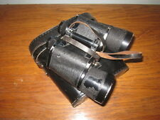 WW2 German Wehrmacht 10x50 Carl Zeiss Jena Binoculars & Case - VERY NICE!