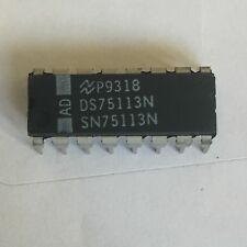 25 pieces x National Semiconductor DS75113N SN75113N