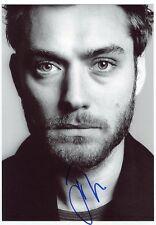 AUTOGRAPHE SUR PHOTO de Jude LAW  (signed in person)