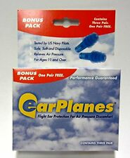 Ear Plugs - Airplane Travel Ear Protection And Pain Reliever (3-Pair - Adult), N