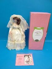 Treasury Collection Paradise Galleries Porcelain Doll Premiere Edition with Box