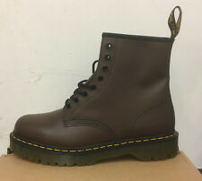 DR. MARTENS 1460  BROWN SMOOTH    LEATHER  BOOTS SIZE UK 7