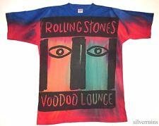 ROLLING STONES Vintage T Shirt 90's Tour Concert 1994 Voodoo Lounge TIE DYE