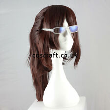 Attack on Titan Shingeki no Kyojin Hanji Hange ponytail cosplay wig, UK SELLER